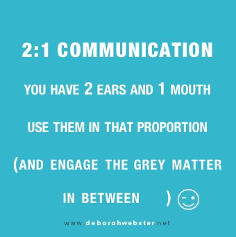 communication ratio